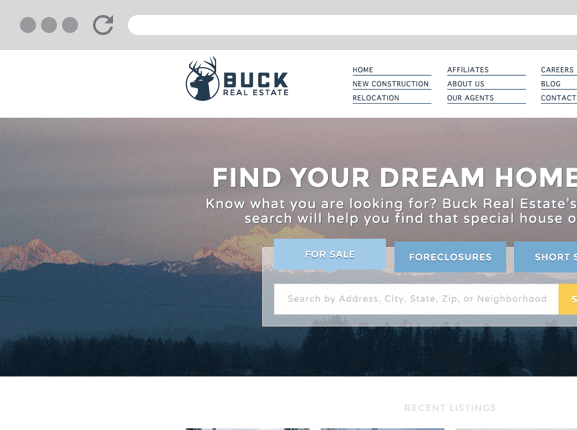 Buck Realty Website